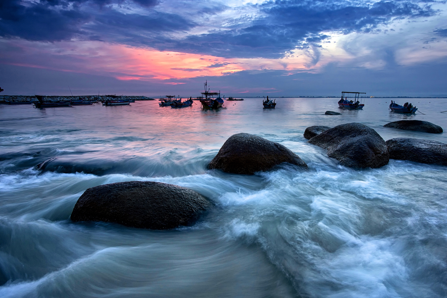 Image: This photo needed to be taken when high tide coincided with sunrise. Planning is needed for t...