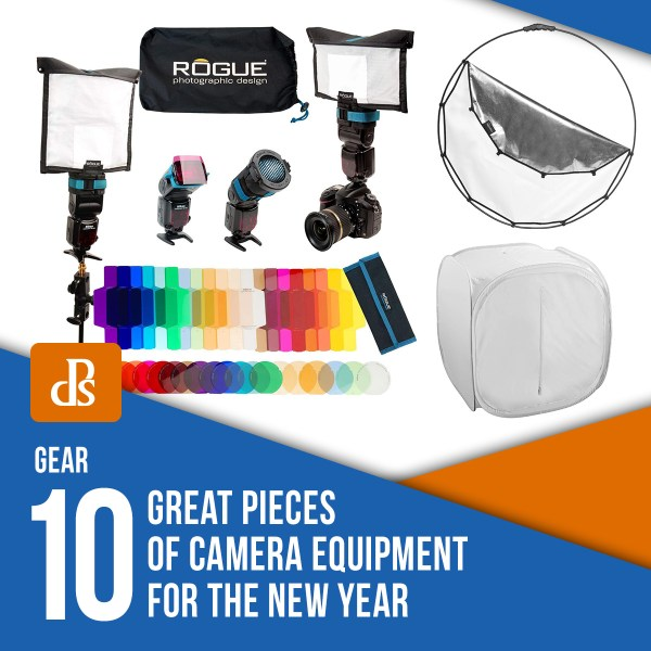 10 Great Pieces of Camera Equipment for the New Year