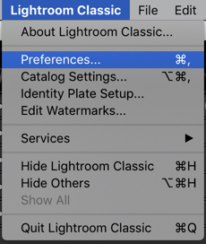 lightroom common questions-optimize catalog