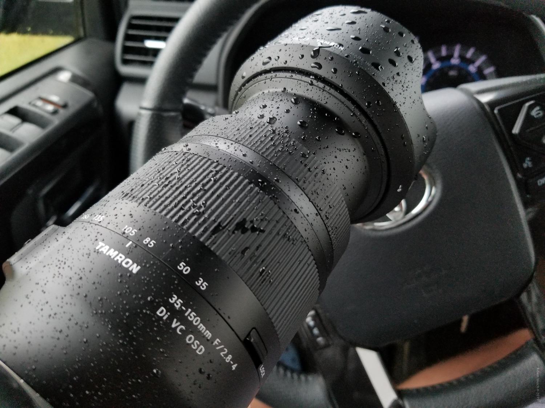 Long focal length camera lens
