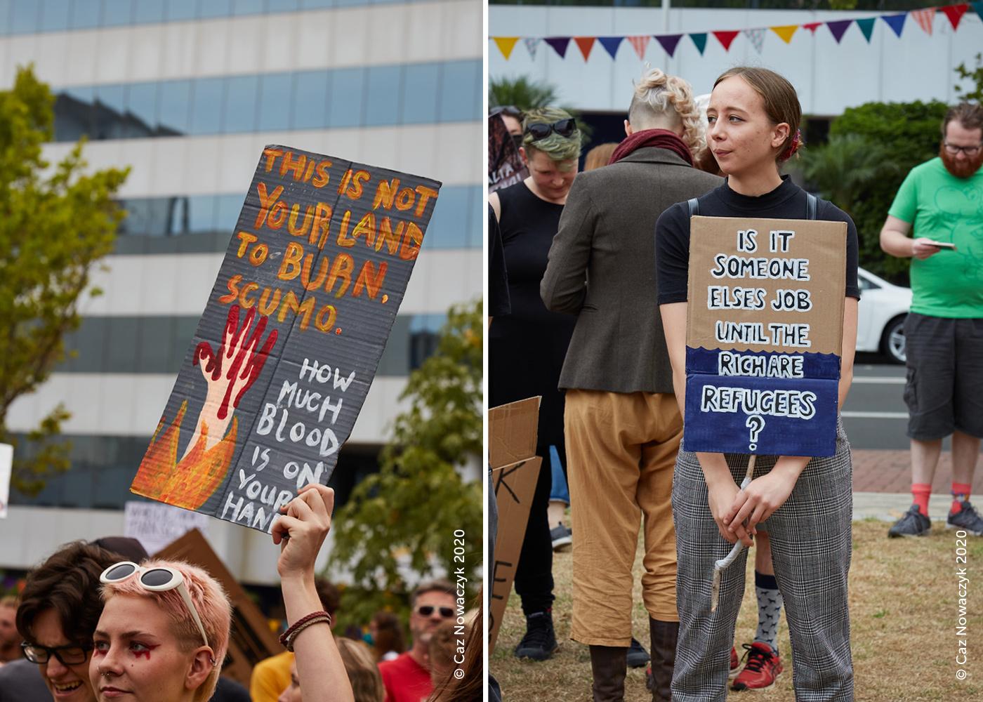 Climate-Change-Rally-Wollongong-January-2020-by-Caz-Nowaczyk