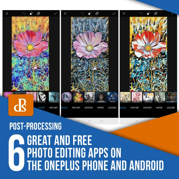6 Great and Free Photo Editing Apps on the OnePlus Phone and Android