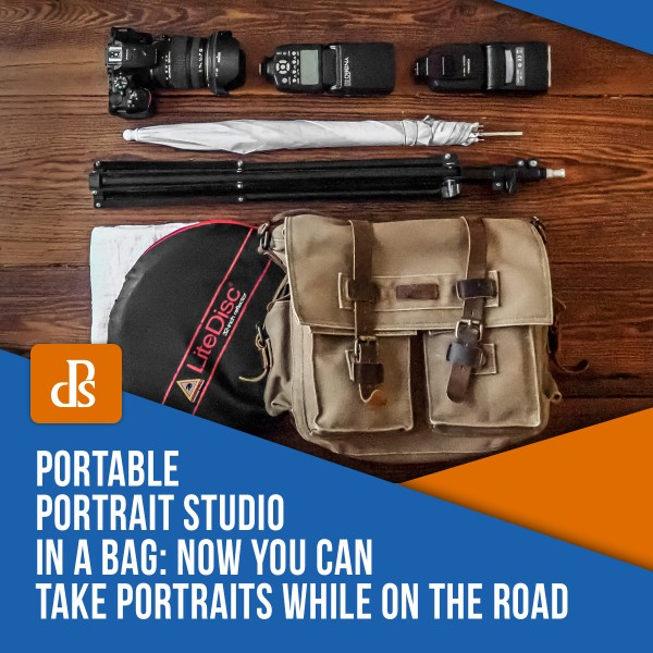 Portable Portrait Studio in a Bag: Now You Can Take Portraits While on the Road
