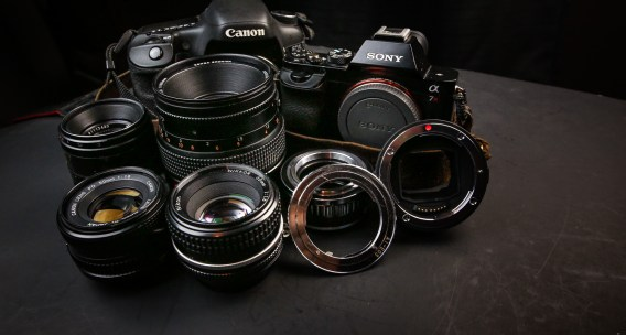Old lenses and new digital cameras