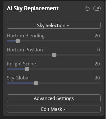 Luminar vs Lightroom AI sky replacement tool