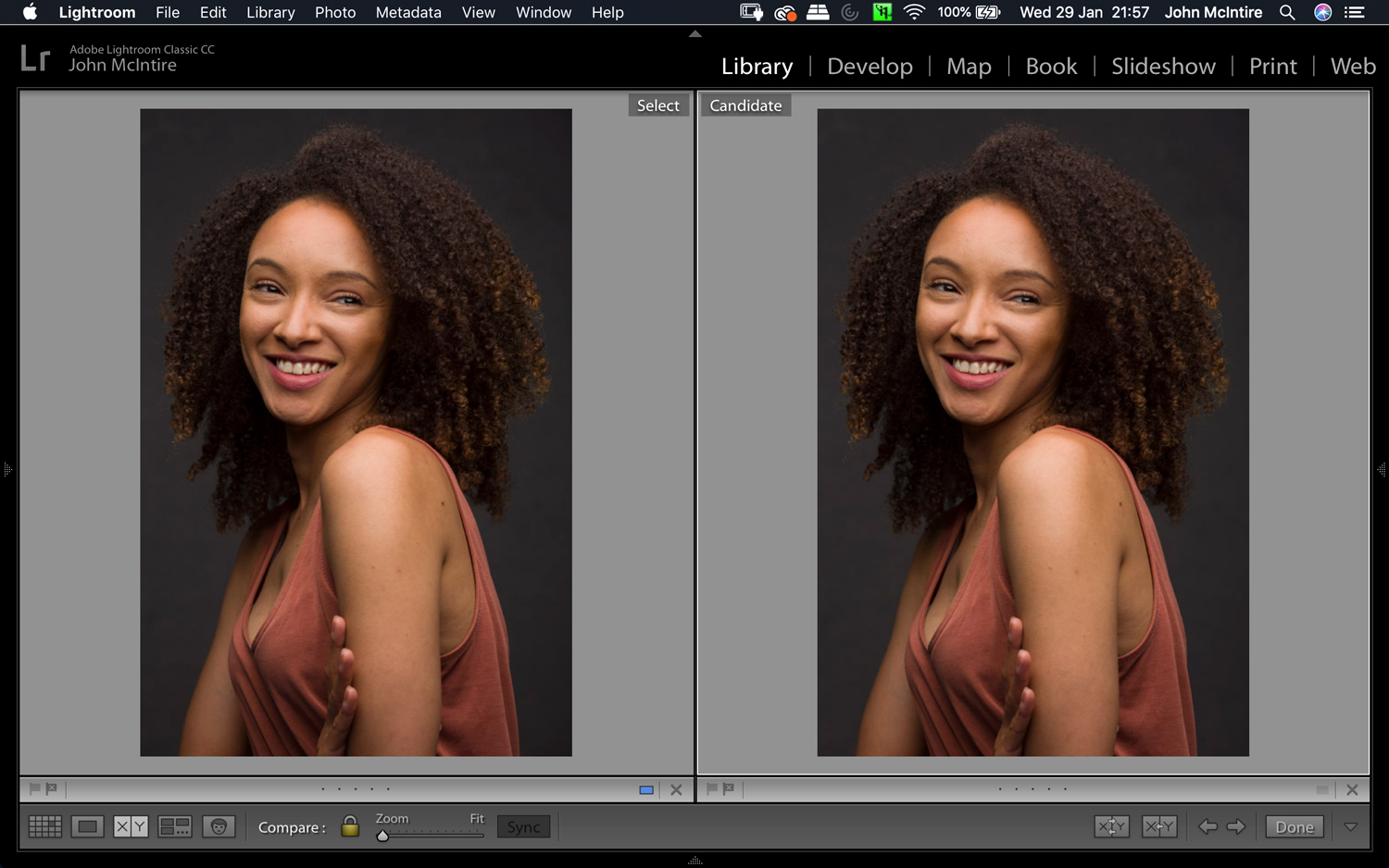 Image: Left: No corrections. Right: With lens corrections. The difference is subtle, but it is very...