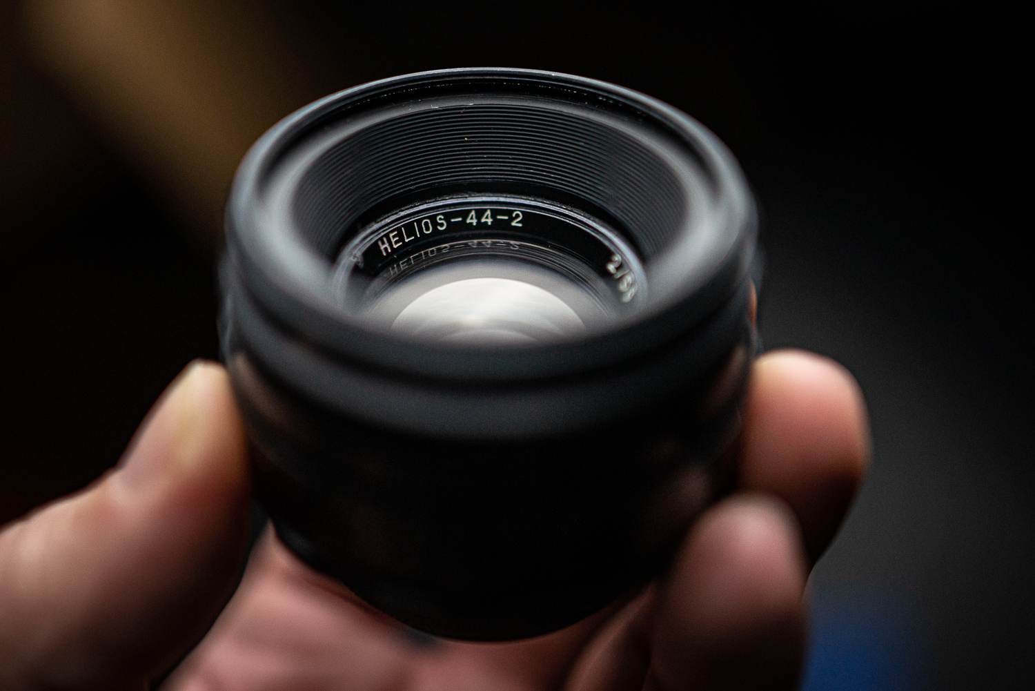 The Helios 44-2 has lens flaws which are prized