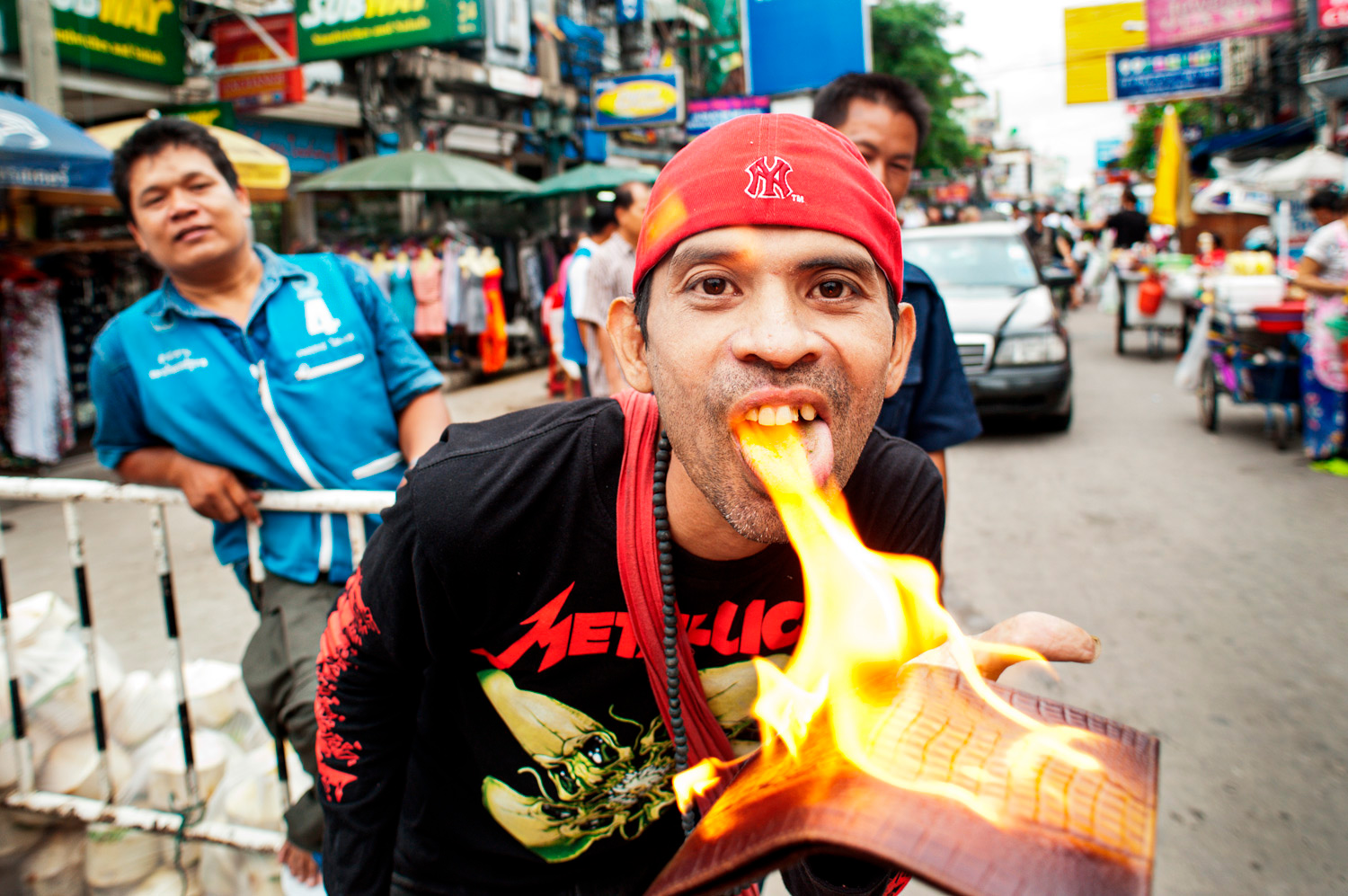 Flaming Wallet illustration Is Being Shy a Good Reason to Take Candid Photos