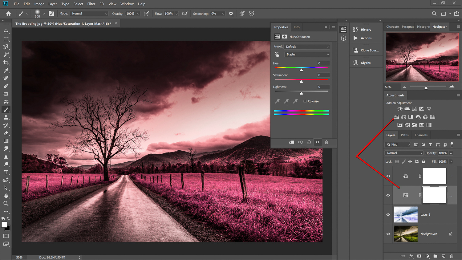 Infrared photography in Photoshop