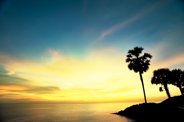 Tropical sunset manual exposure cheat sheet