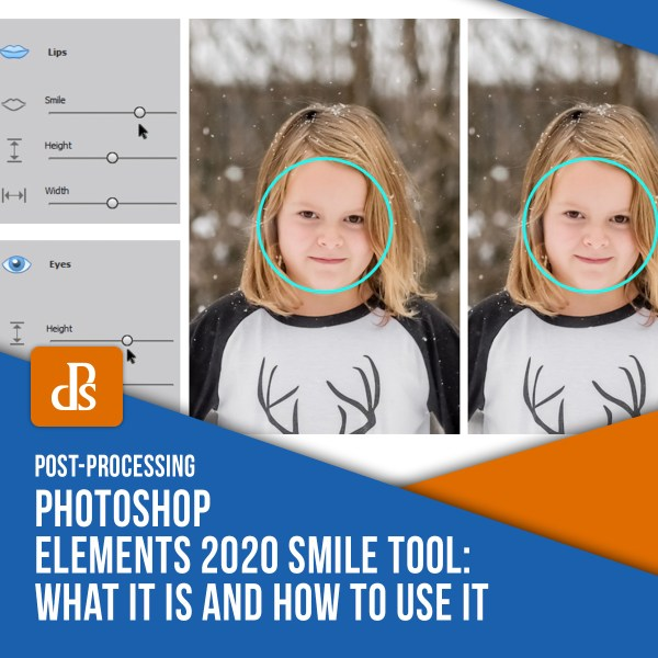 Photoshop Elements 2020 Smile Tool – What it is and How to Use it
