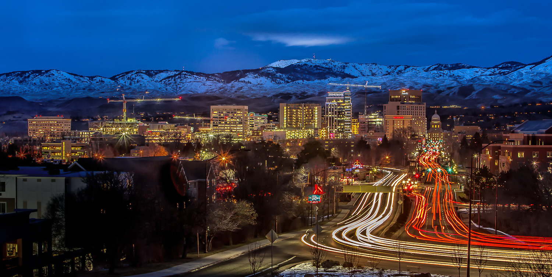"Boise, Idaho ""Rush Hour"""