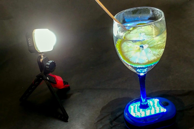Still life água com gás iluminação - 03