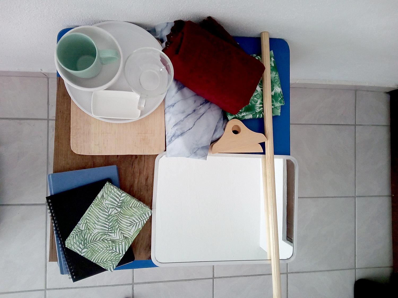 tabletop photography setup
