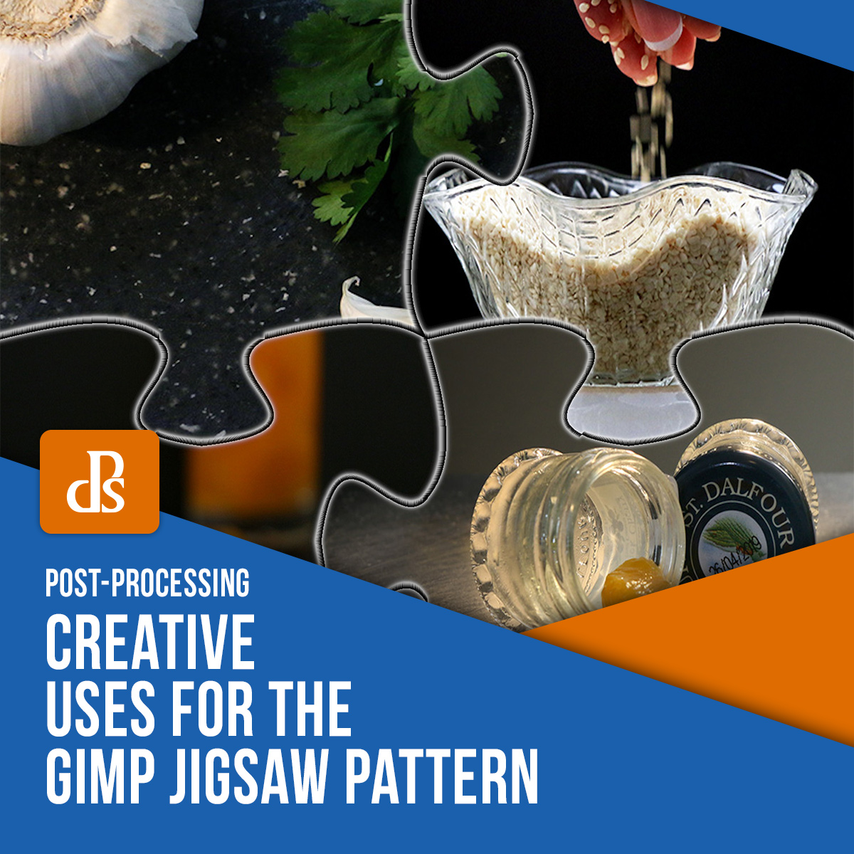 Creative Uses for the GIMP Jigsaw Pattern