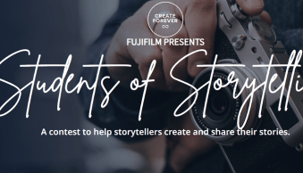 """Fujifilm Will Award $90,000 in Gear as Part of """"Students of Storytelling"""" Initiative"""