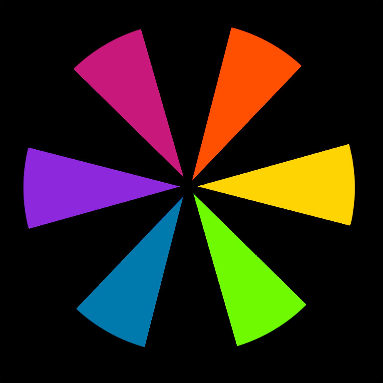 cores terciárias para exercícios de fotografia em cores
