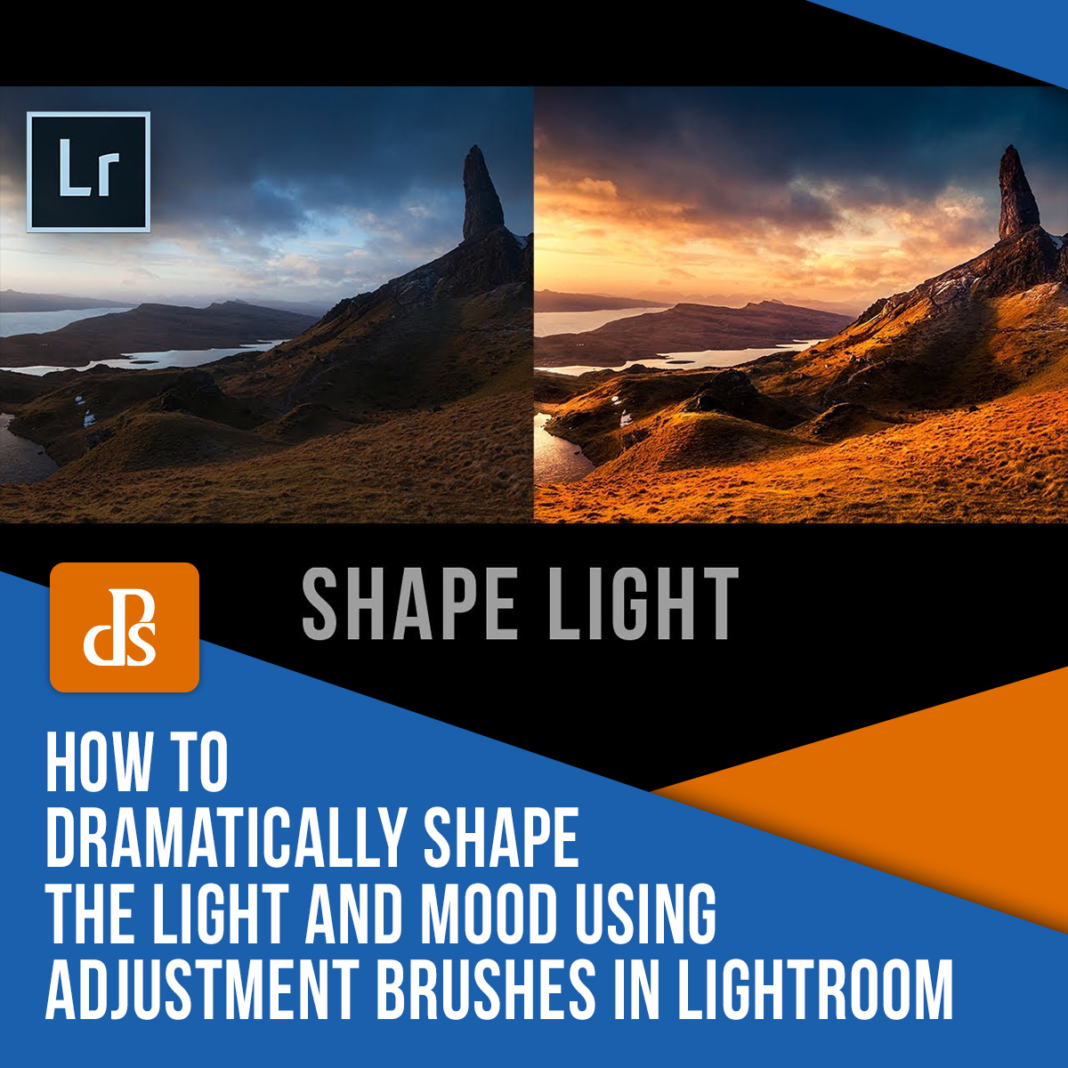 How to Dramatically Shape the Light and Mood Using Adjustment Brushes in Lightroom (video) Featured image