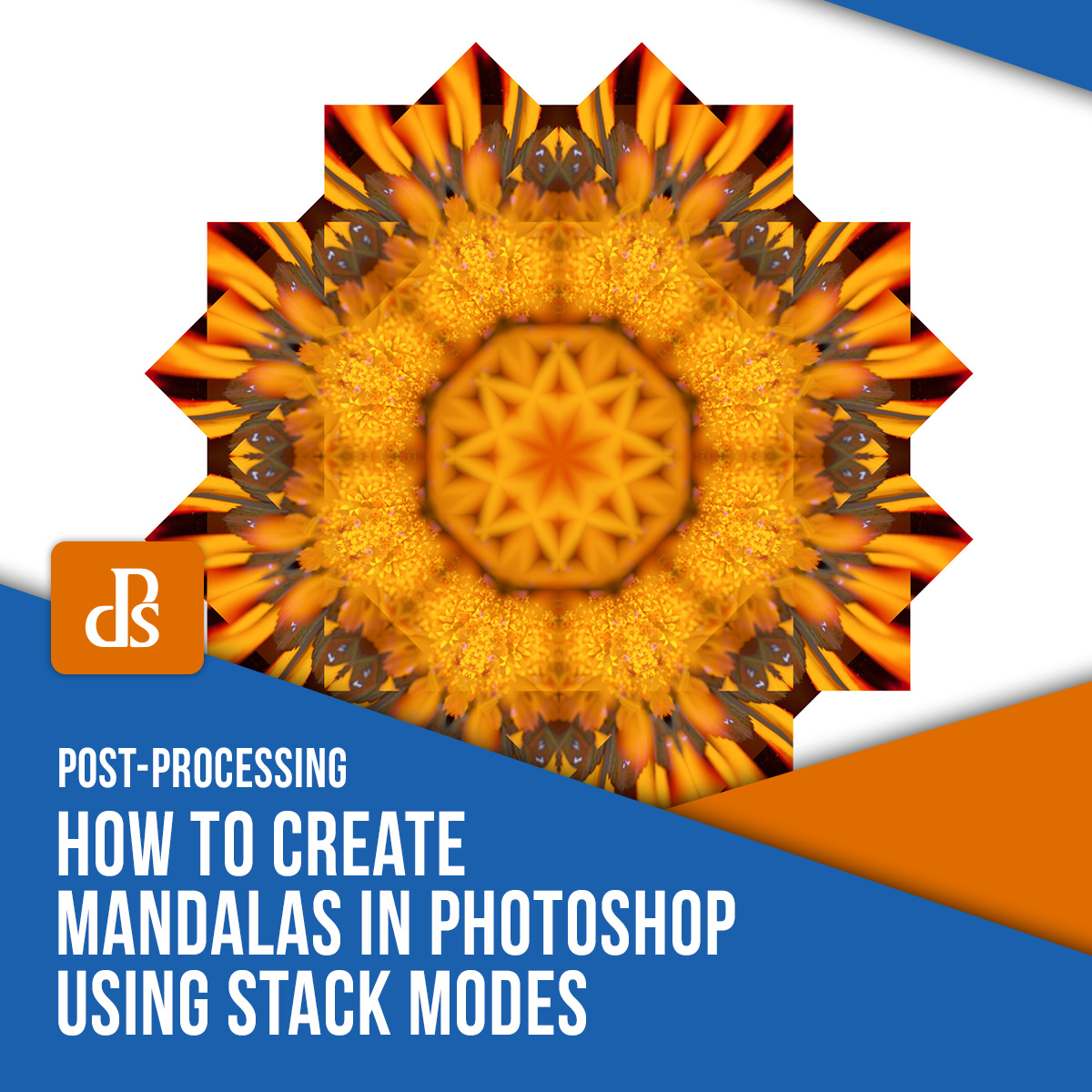 create mandalas in photoshop with stack modes