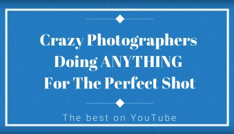 Things Photographers Will Do For The Perfect Shot (video)