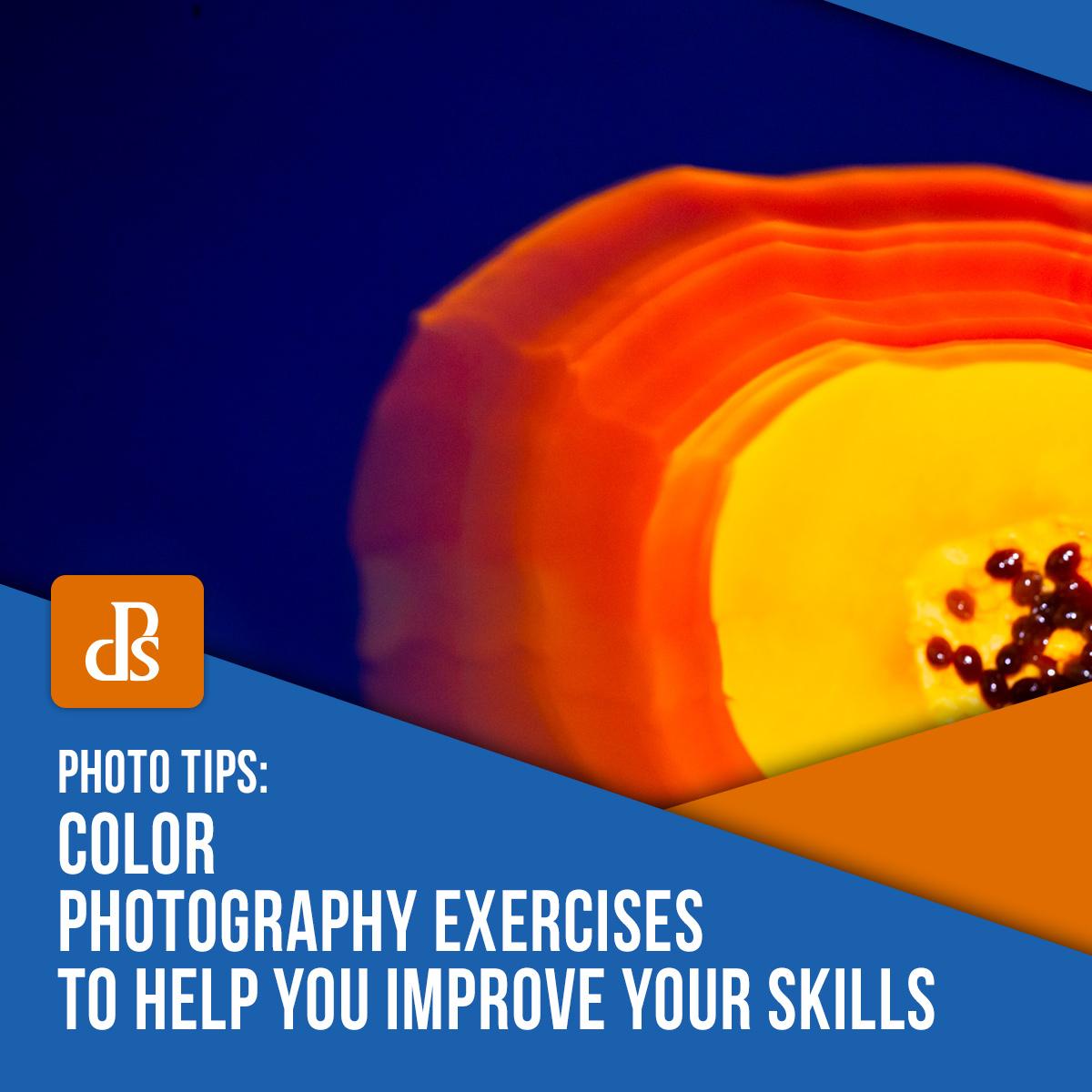 exercícios de fotografia colorida