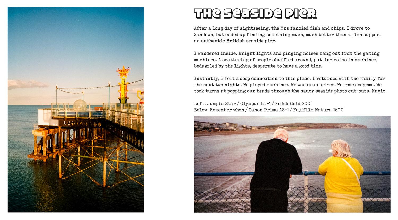Every Summer film photography zine by Matt Murray
