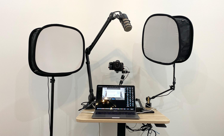 live streaming setup and youtube video setup