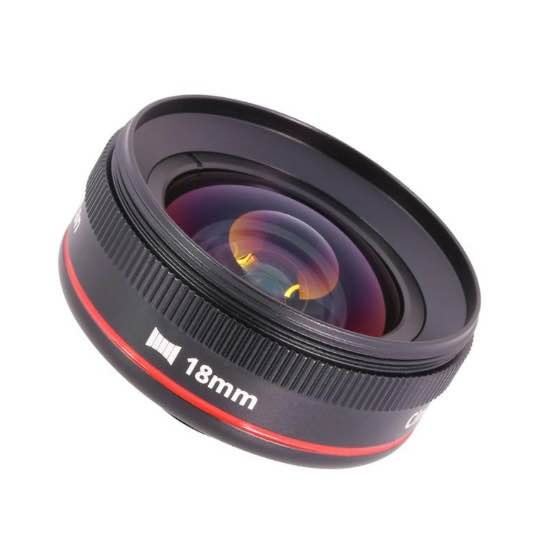 Struman Optics Cinematic lenses for smartphones review - 18mm lens