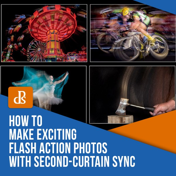 How to Make Exciting Flash Action Photos with Second-Curtain Sync