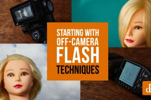 Starting with Off-Camera Flash in Photography: Techniques