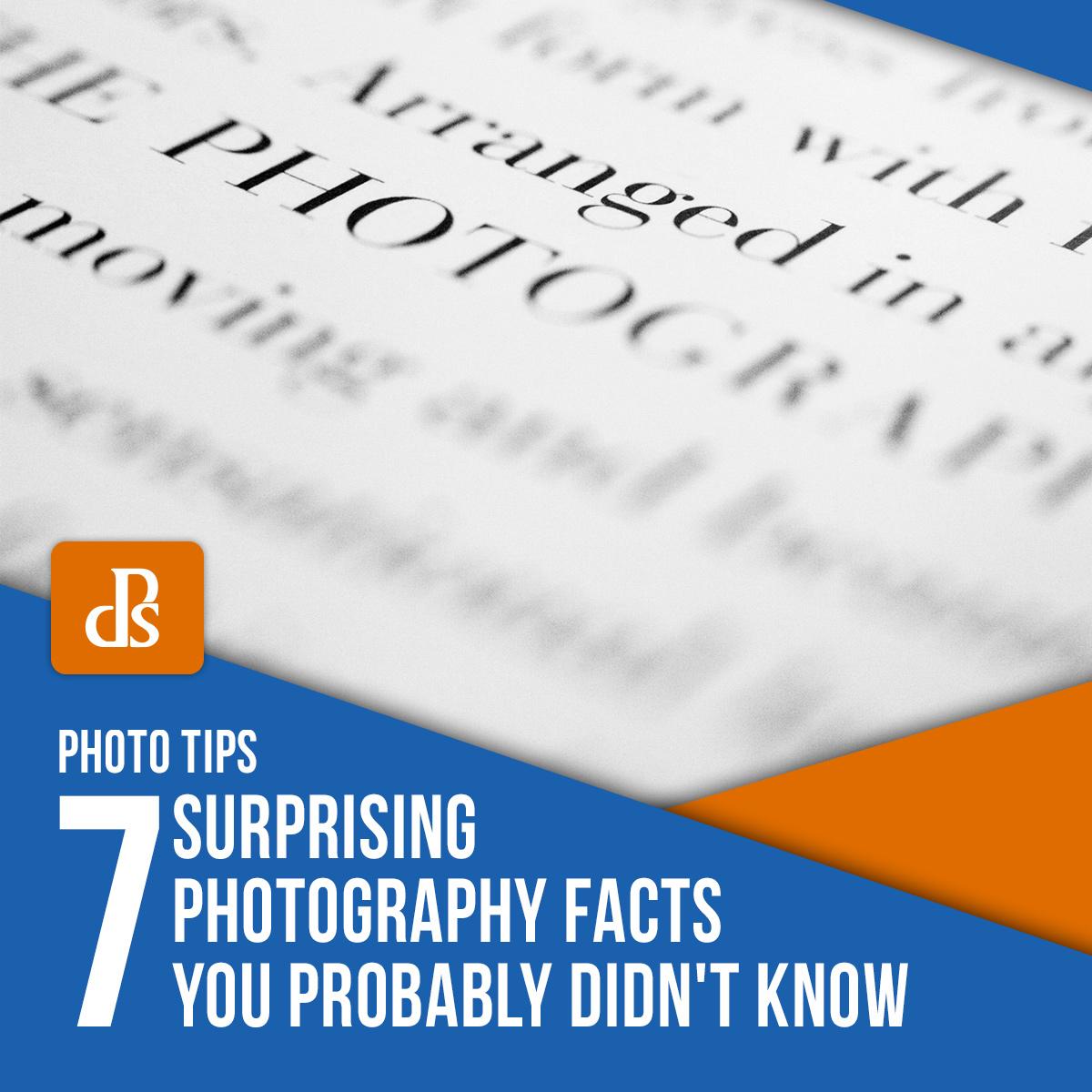 fatos surpreendentes da fotografia