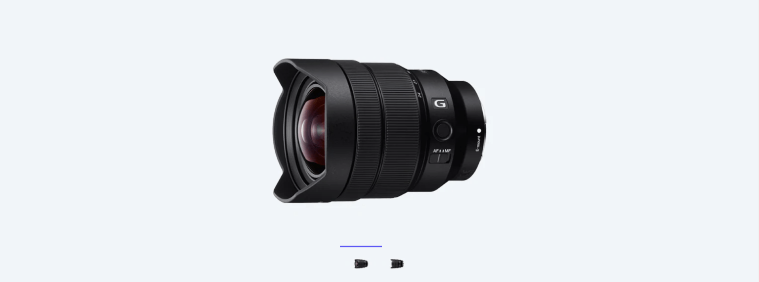Sony will announce the 12-24mm f/2.8 lens