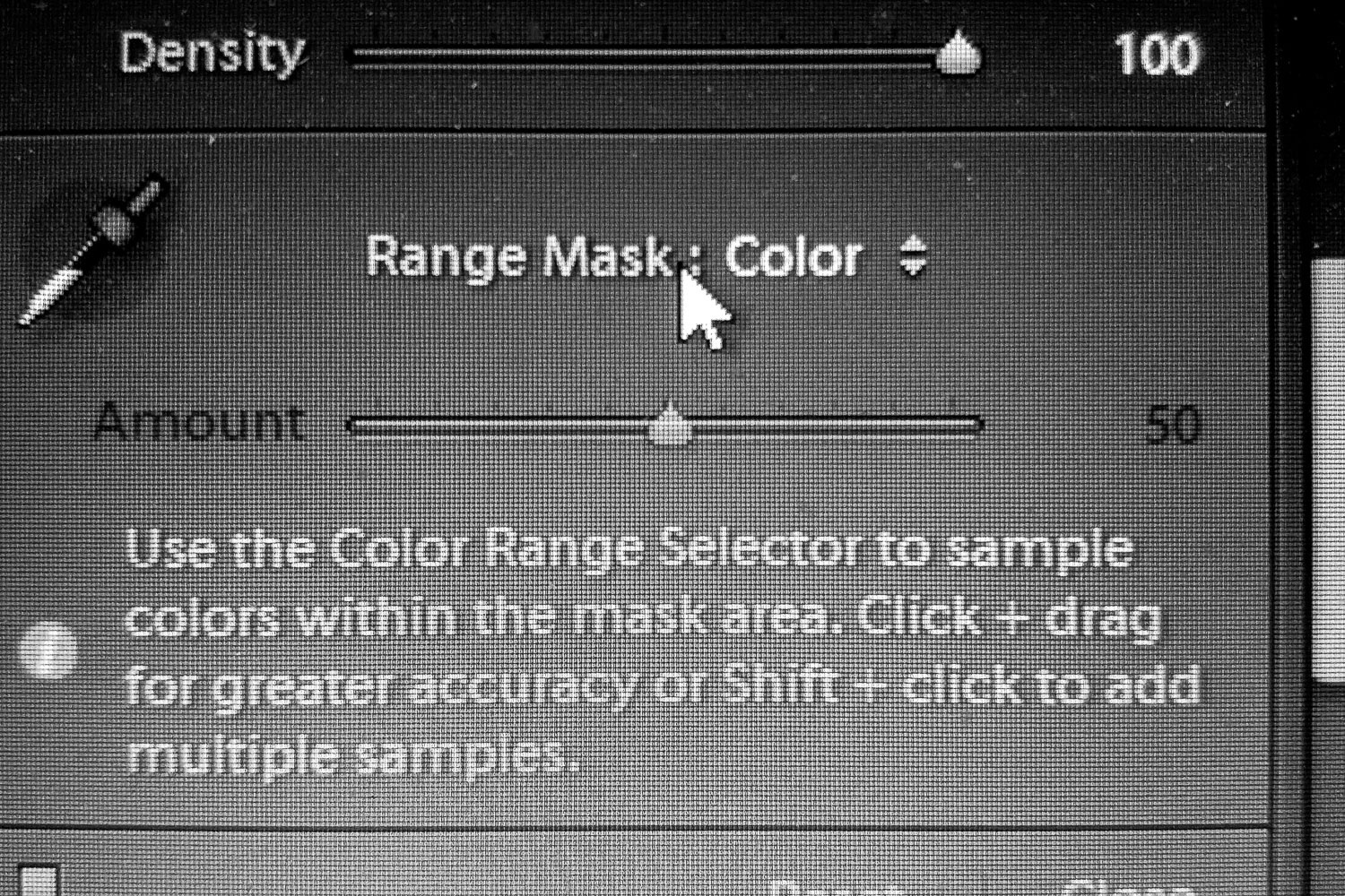 The Range Mask in Lightroom