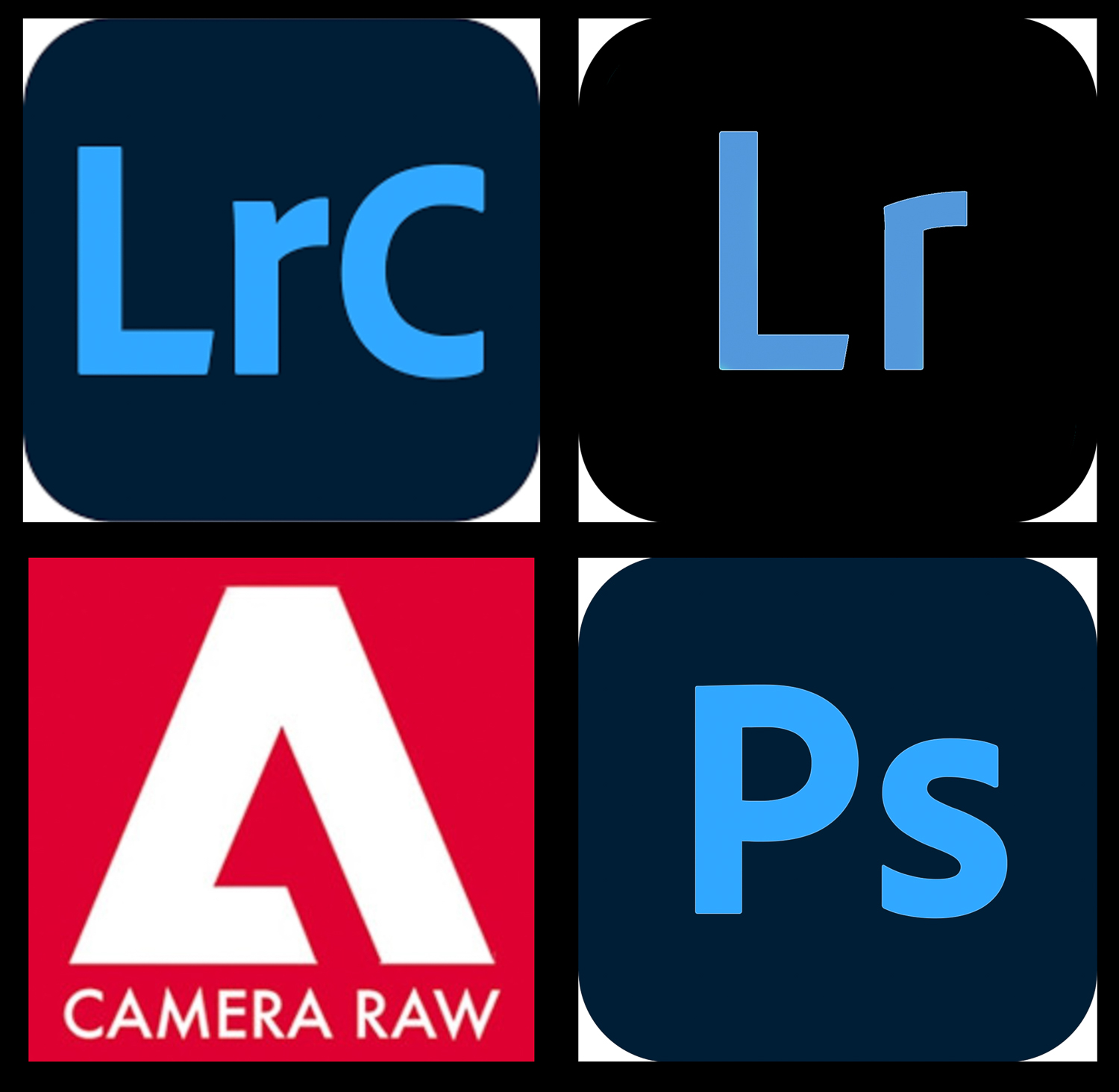Adobe Photo Editing programs