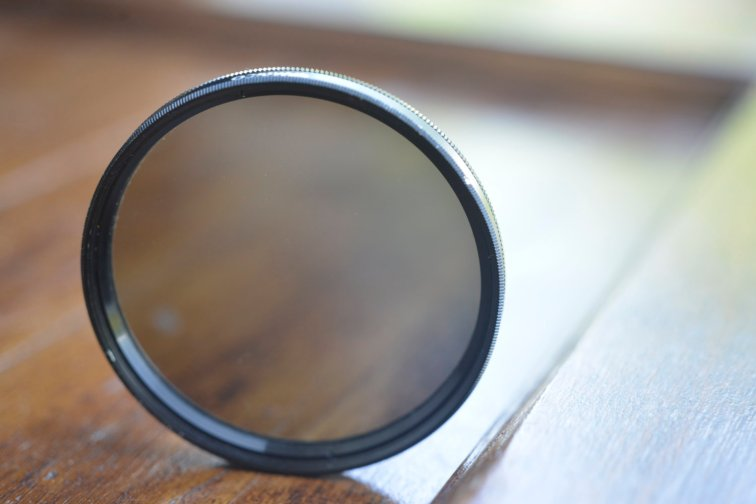 circular polarizing filter