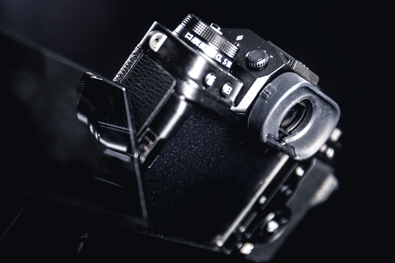 Fujifilm X-T4 side view