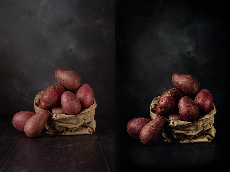 retratos de comida