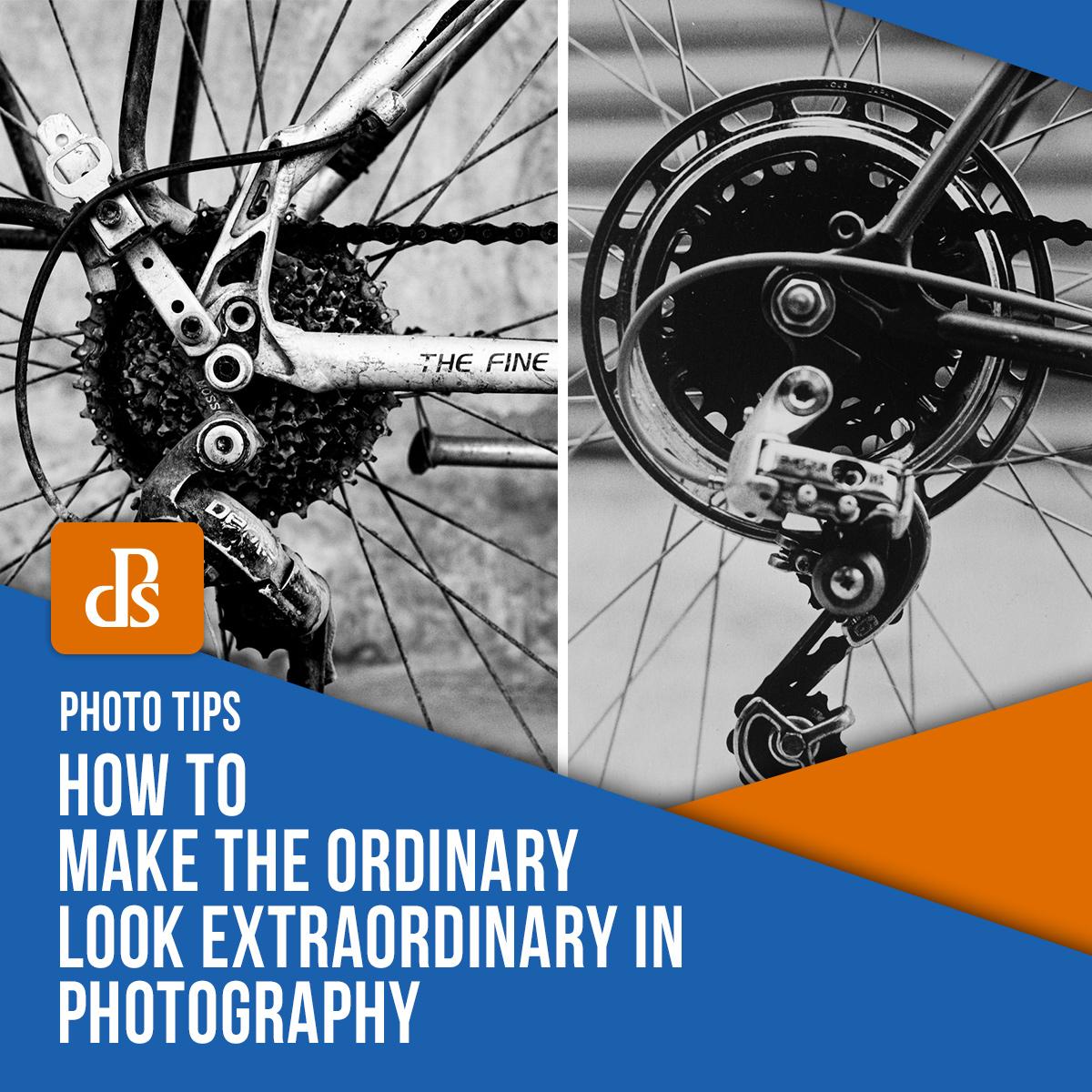 como fotografar coisas comuns imagem característica