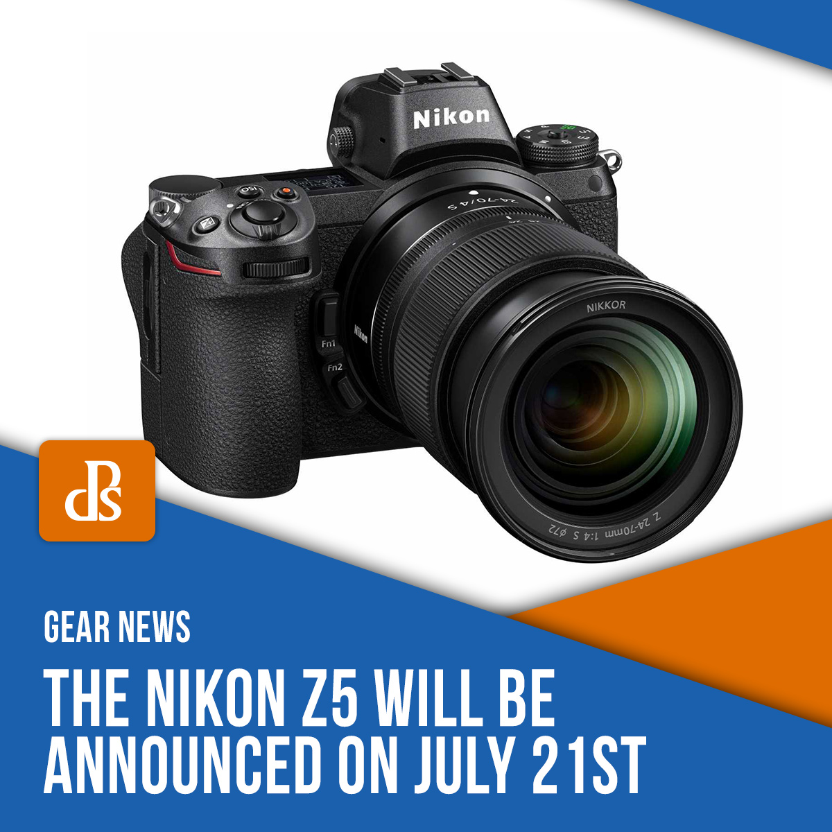 nikon z5 announced news