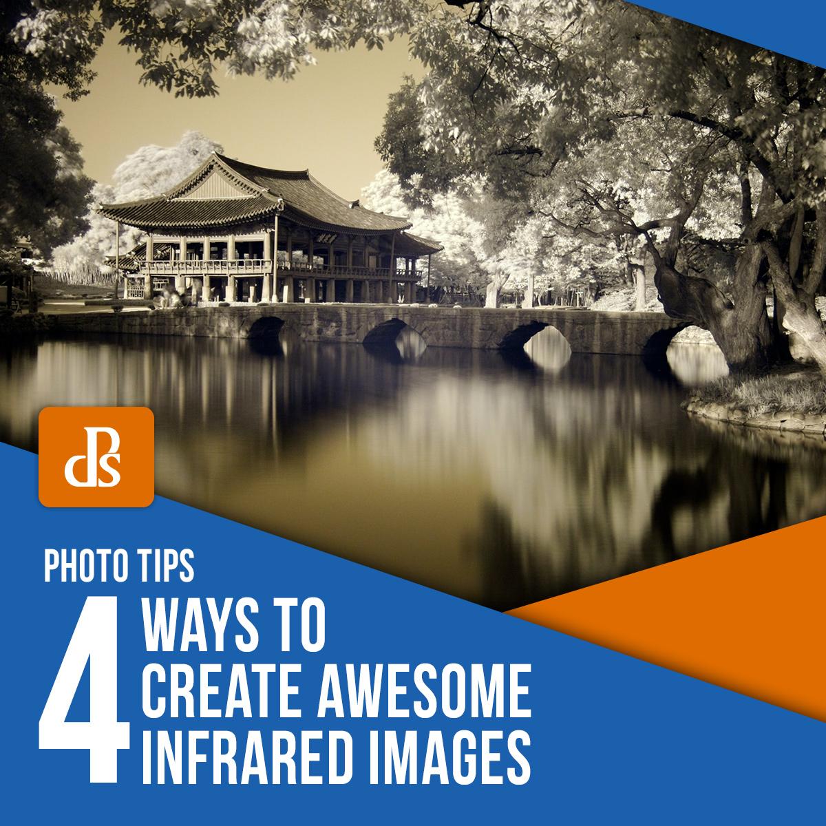 maneiras de criar imagens infravermelhas