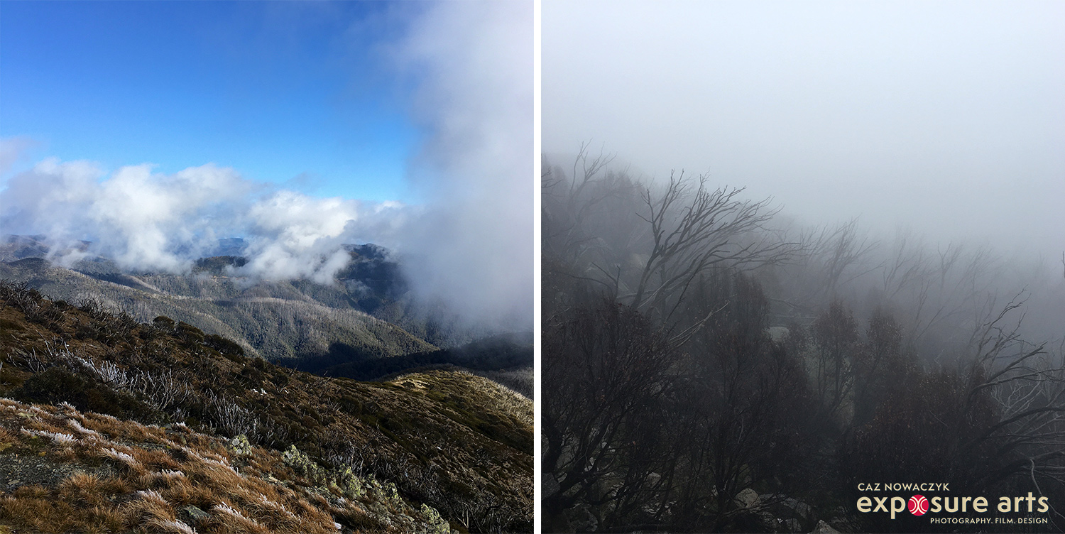Mt Hotham and Mt Buffalo, Victoria, Australia by Caz Nowaczyk