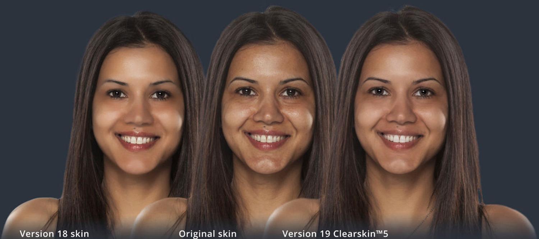 Athropics Portrait Pro skin texture compared