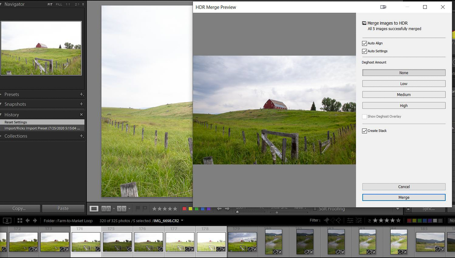 Tips for dramatic skies - Lightroom HDR