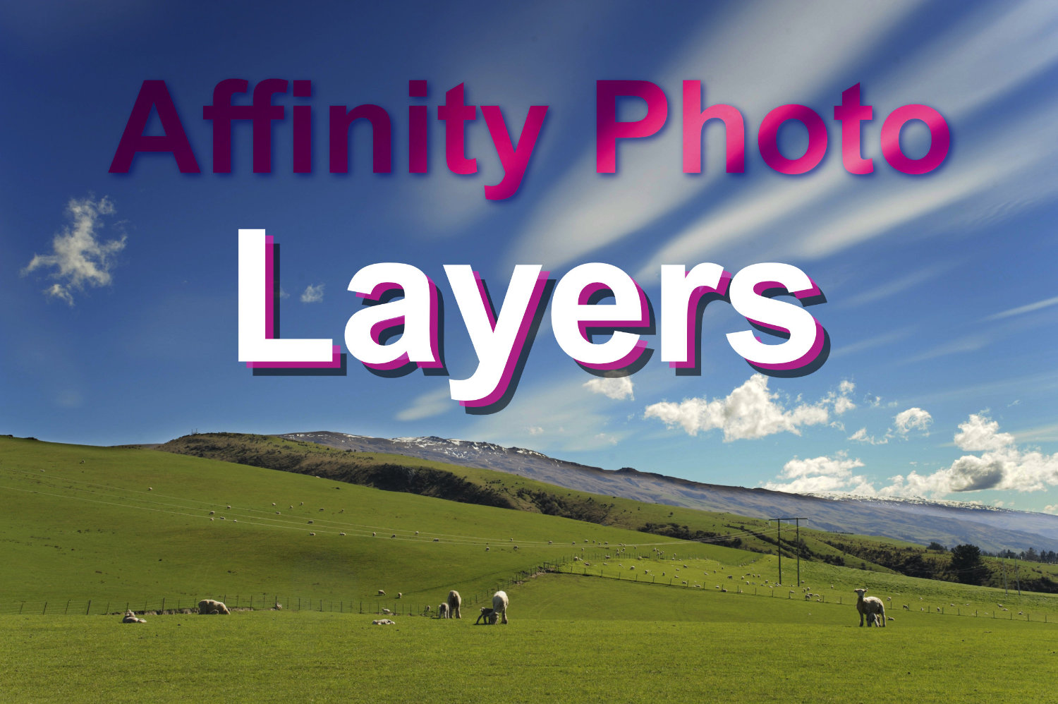 Using layers in Affinity Photo