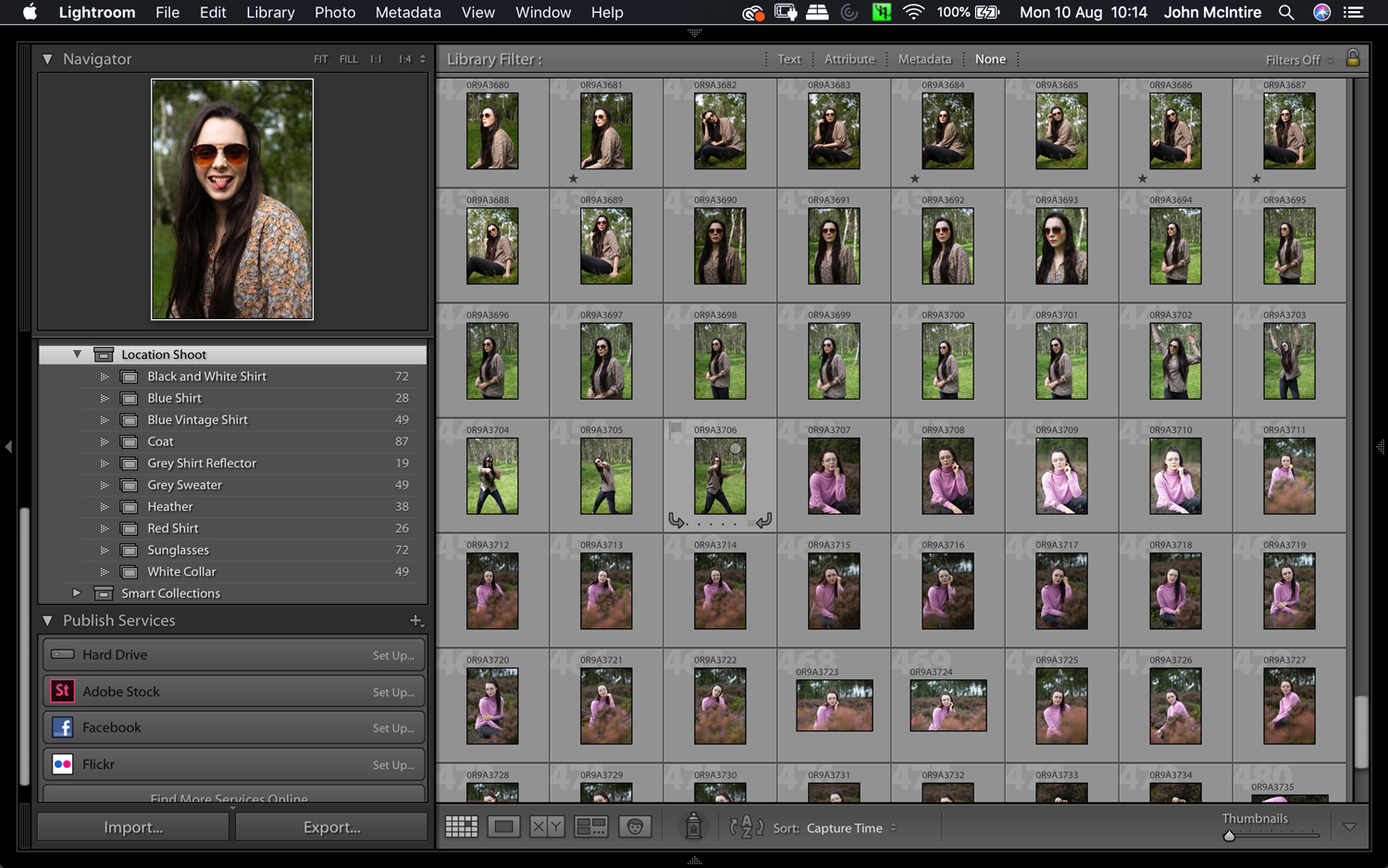 culling images