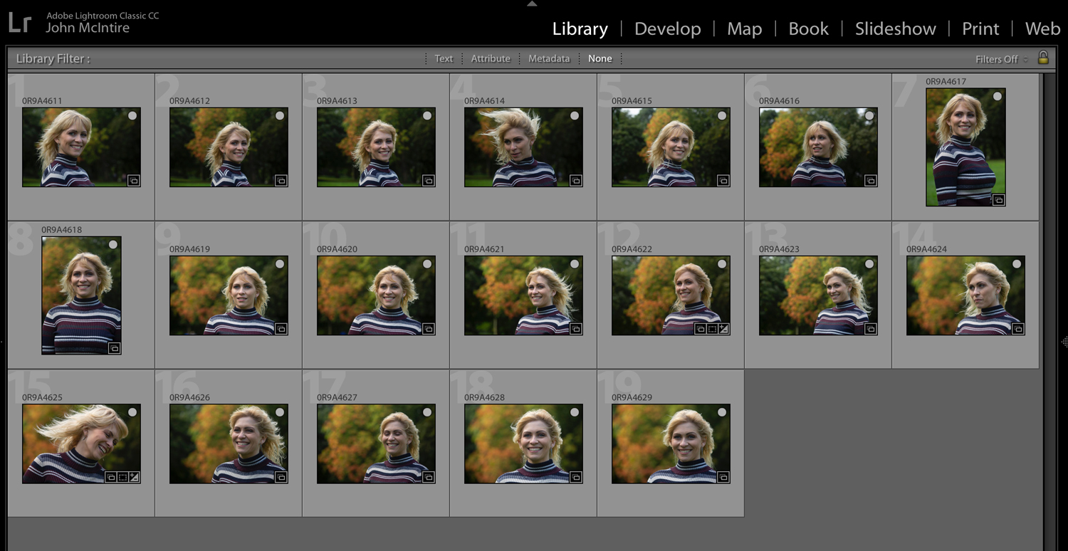 guidelines for photographers Lightroom catalog