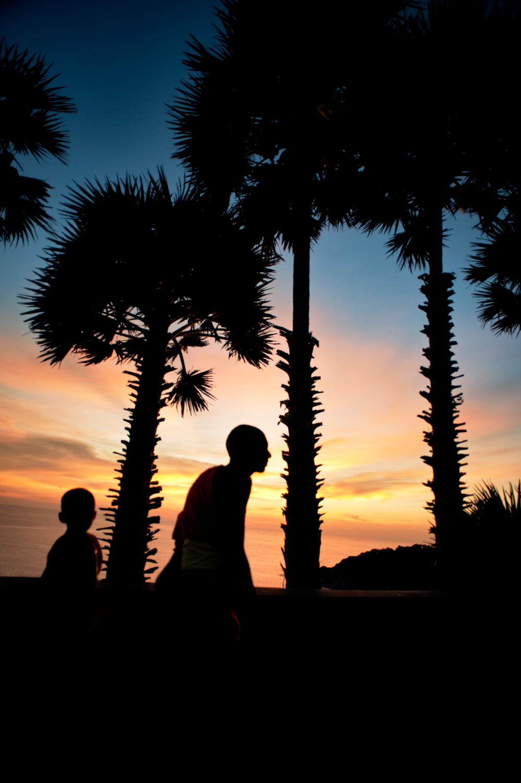 Sunset frames