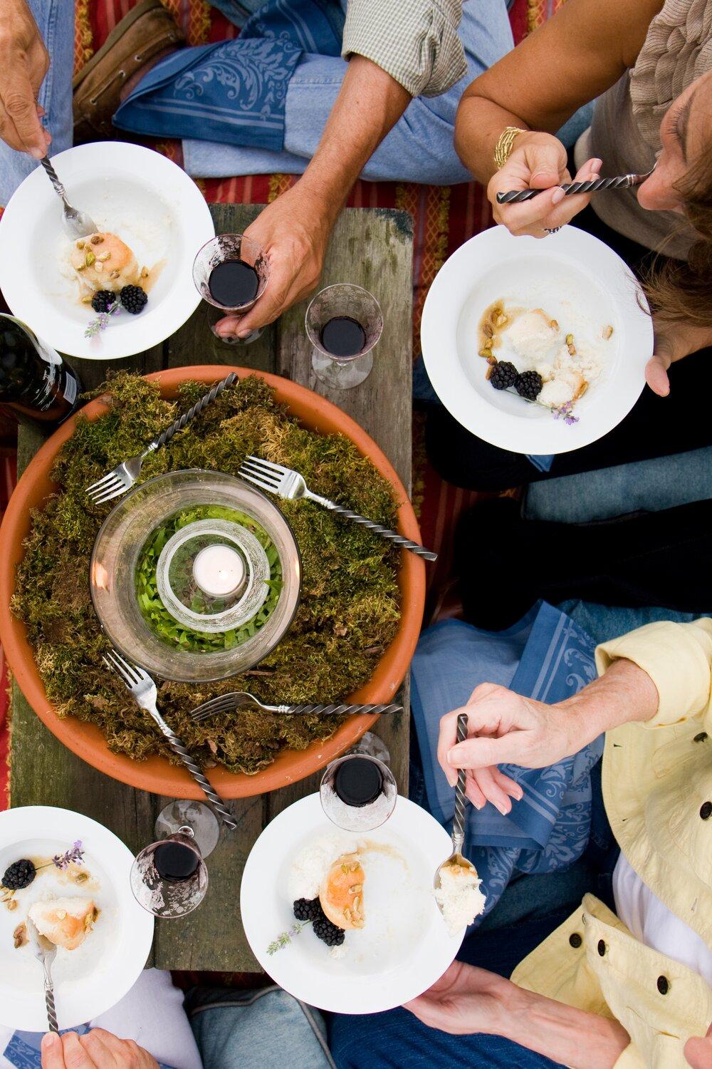 técnicas de fotografia de comida