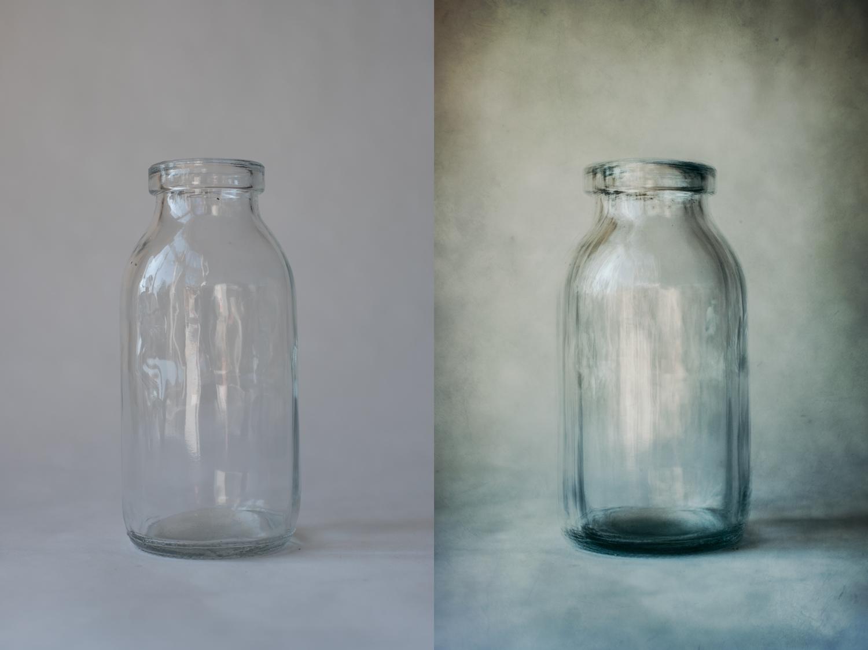 O que é o jarro de fotografia abstrata?
