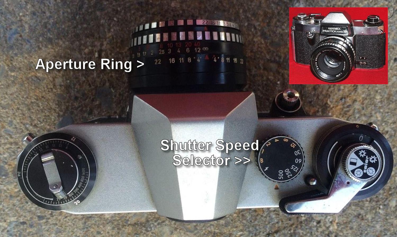 Hanimex Praktica Nova 1B - Minha primeira câmera SLR.